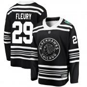 Fanatics Branded Chicago Blackhawks 29 Marc-Andre Fleury Black 2019 Winter Classic Breakaway Youth NHL Jersey