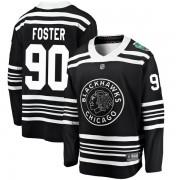 Fanatics Branded Chicago Blackhawks 90 Scott Foster Black 2019 Winter Classic Breakaway Youth NHL Jersey