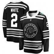 Fanatics Branded Chicago Blackhawks 2 Bill White White Black 2019 Winter Classic Breakaway Youth NHL Jersey